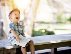 ansteckendes Lachen