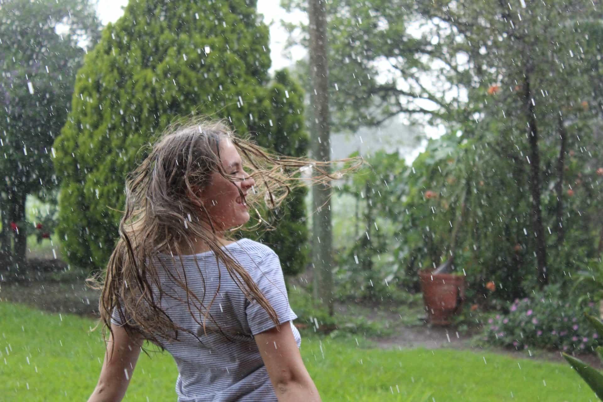 Dem Regenwetter trotzen