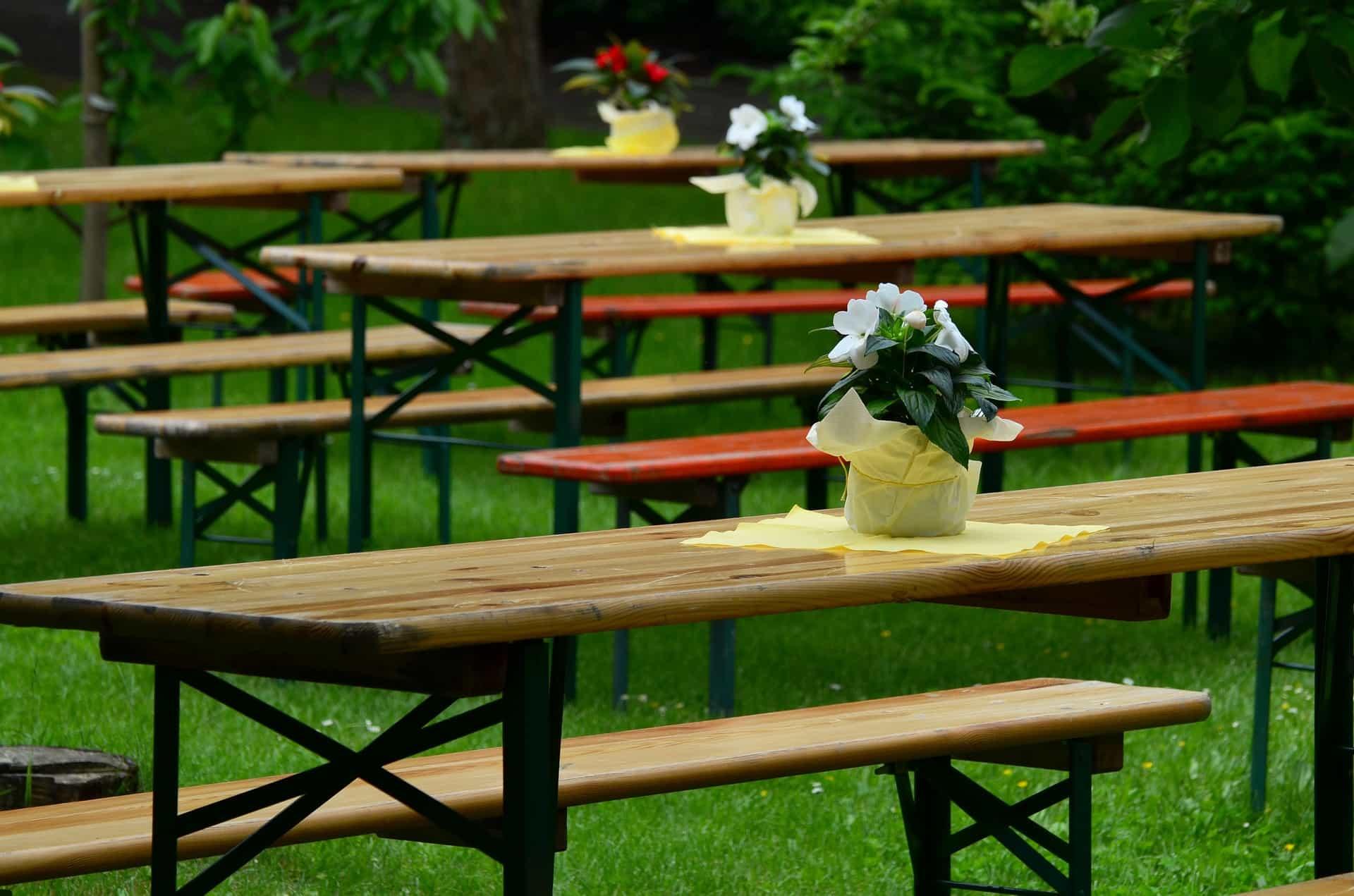 eigene Gartenparty organisieren