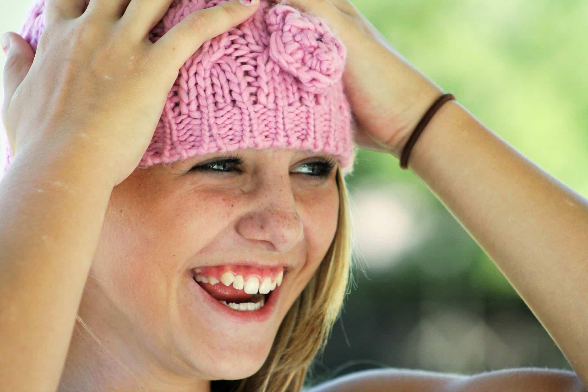 aufrichtiges Lachen