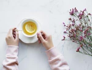 meditieren mit Tee
