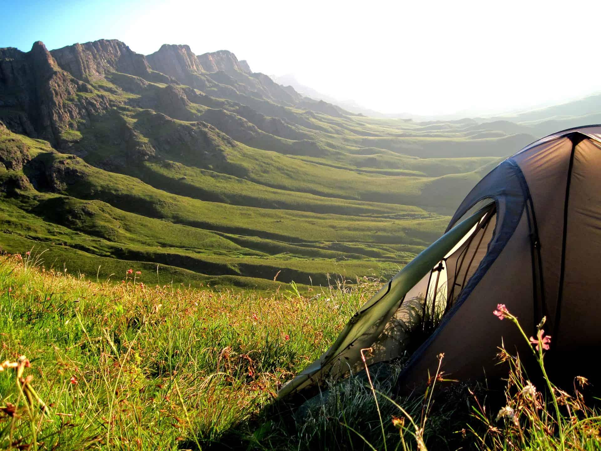 Sommerurlaub im Zelt